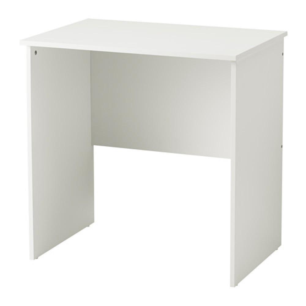 Стол для компьютера МАРРЕН белый  фото 1