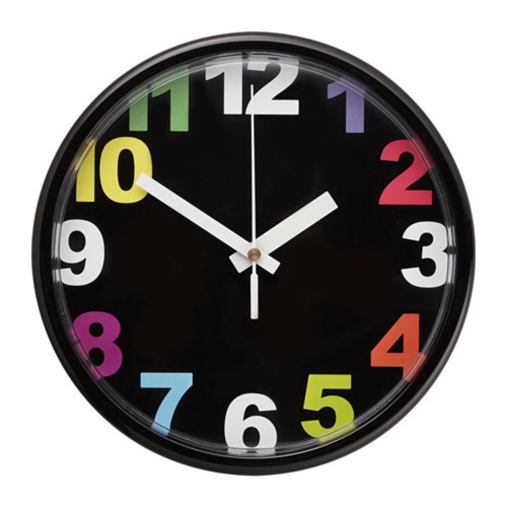 Настенные часы ЮККЕ разноцветный  фото 1